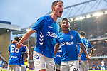 02.08.18 Rangers v FK Osijek: Nikola Katic celebrates his goal