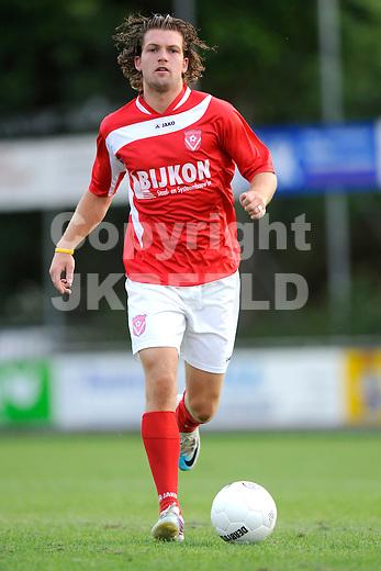 HARKEMA - Harkemase Boys,  Topklasse, seizoen 2011-2012 , 19-07-2011 Jorrit Schra