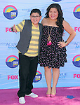 Rico Rodriguez and Raini Rodriguez at FOX's 2012 Teen Choice Awards held at The Gibson Ampitheatre in Universal City, California on July 22,2012                                                                               © 2012 Hollywood Press Agency