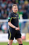 St Johnstone v Celtic.....12.04.11.Ref Iain Brines.Picture by Graeme Hart..Copyright Perthshire Picture Agency.Tel: 01738 623350  Mobile: 07990 594431