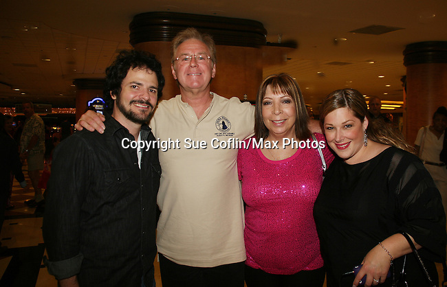 Carnie Wilson with husband Rob and mom - Official Daytime Emmy Awards gifting Suite on June 27, 2010 during 37th Annual Daytime Emmy Awards at Las Vegas Hilton, Las Vegas, Nevada, USA. (Photo by Sue Coflin/Max Photos)