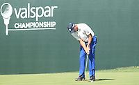 Matt Kuchar (USA) during round 1 of the Valspar Championship, at the  Innisbrook Resort, Palm Harbor,  Florida, USA. 10/03/2016.<br /> Picture: Golffile | Mark Davison<br /> <br /> <br /> All photo usage must carry mandatory copyright credit (&copy; Golffile | Mark Davison)
