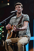 SUNRISE, FL - DECEMBER 21: Shawn Mendes performs during the Y100's Jingle Ball 2014 at BB&T Center on December 21, 2014 in Miami, Florida. Credit Larry Marano (C) 2014