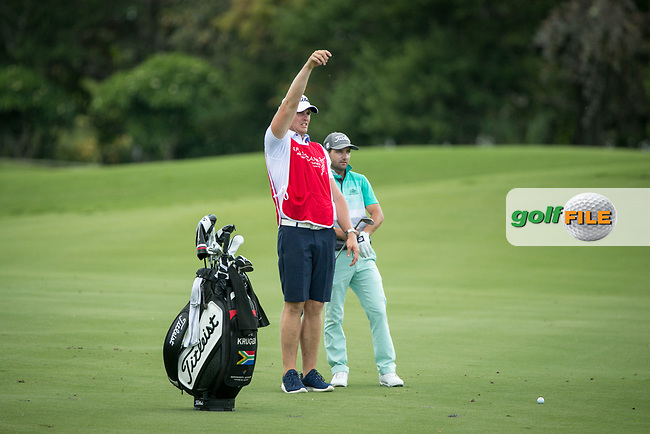 Jbe Kruger (RSA) during the 3rd round of the AfrAsia Bank Mauritius Open, Four Seasons Golf Club Mauritius at Anahita, Beau Champ, Mauritius. 01/12/2018<br /> Picture: Golffile | Mark Sampson<br /> <br /> <br /> All photo usage must carry mandatory copyright credit (&copy; Golffile | Mark Sampson)