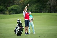 Jbe Kruger (RSA) during the 3rd round of the AfrAsia Bank Mauritius Open, Four Seasons Golf Club Mauritius at Anahita, Beau Champ, Mauritius. 01/12/2018<br /> Picture: Golffile | Mark Sampson<br /> <br /> <br /> All photo usage must carry mandatory copyright credit (© Golffile | Mark Sampson)