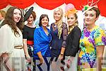 Caoimhe Corridan, Mairead Corridan, Marie McCarthy, Eimear McCarthy, Edwina Barrett and Elaine Kennelly at Listowel Races Ladies Day on Sunday.