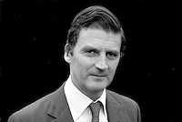 James Hamilton, Duke of Abercorn, 5th Duke, Baronscourt Castle, Newtownstewart, Co Tyrone, N Ireland, 19850713DA3.<br />