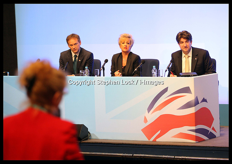 The Road to 2015 'Meet The Chairmen' at the Conservative Party Conference in Birmingham, Sunday,  October 7th 2012. Photo by: Stephen Lock / i-Images