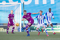 Danny Grainger of Carlisle United plays the ball forward during Colchester United vs Carlisle United, Sky Bet EFL League 2 Football at the JobServe Community Stadium on 23rd February 2019