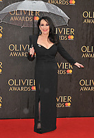 Lesley Joseph at the Olivier Awards 2018, Royal Albert Hall, Kensington Gore, London, England, UK, on Sunday 08 April 2018.<br /> CAP/CAN<br /> &copy;CAN/Capital Pictures<br /> CAP/CAN<br /> &copy;CAN/Capital Pictures