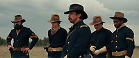 Hostiles (2017) <br /> Christian Bale and Jesse Plemons <br /> *Filmstill - Editorial Use Only*<br /> CAP/KFS<br /> Image supplied by Capital Pictures