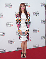 UNIVERSAL CITY, CA - JULY 22: Debby Ryan at the 2012 Staples For Students 'Party' For A Cause hosted by Staples, DoSomething.org and Bella Thorne at the Globe Theatre at Universal Studios on July 22, 2012 in Universal City, California © mpi21/MediaPunch Inc. /NortePhoto.com*<br />