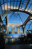 29.12.2015. Alexandra Palace, London, England. William Hill PDC World Darts Championship. A general view of the Alexandra Palace entrance interior