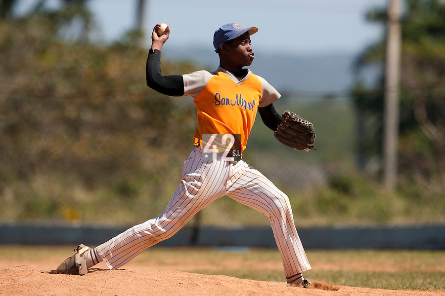 BASEBALL - POLES BASEBALL FRANCE - TRAINING CAMP CUBA - HAVANA (CUBA) - 13 TO 23/02/2009 - CUBAN PITCHER