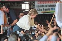 SÃO PAULO,SP,30.07.2016 - ELEIÇÕES-SP - Marta Suplicy e Andrea Matarazzo durante convenção municipal do PMDB 2016 na região norte de São Paulo,neste sábado (30) (Foto : Marcio Ribeiro / Brazil Photo Press)