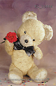 Interlitho, Alberto, CUTE ANIMALS, teddies, photos, teddy, tie, rose(KL15444,#AC#)