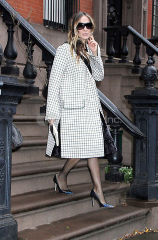 NEW YORK, NY - December 13: Sarah Jessica Parker heading to the Muse Awards in New York City on December 13, 2018. Credit: RW/MediaPunch