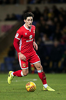 George Williams of MK Dons during Oxford United vs MK Dons, Sky Bet EFL League 1 Football at the Kassam Stadium on 1st January 2018