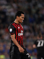 Calcio, finale Tim Cup: Milan vs Juventus. Roma, stadio Olimpico, 21 maggio 2016.<br /> AC Milan&rsquo;s Carlos Bacca reacts during the Italian Cup final football match between AC Milan and Juventus at Rome's Olympic stadium, 21 May 2016.<br /> UPDATE IMAGES PRESS/Isabella Bonotto