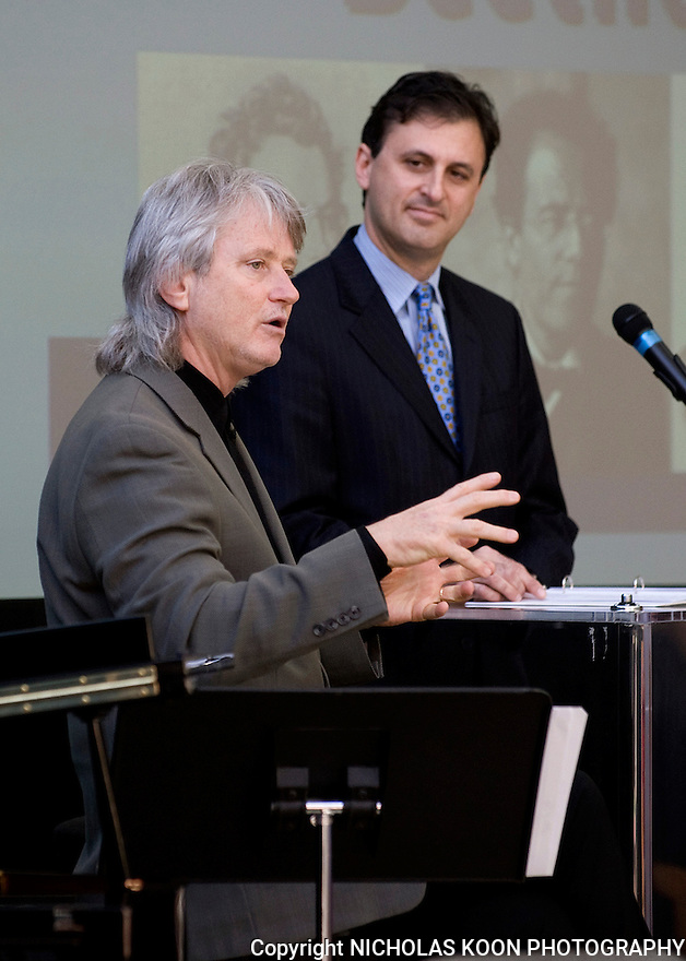 On Monday, February 7th, 2011, Pacific Symphony Music Director Carl St. Claire and President John Forsyte revealed what's in store for the upcoming season for the Pacific Symphony.