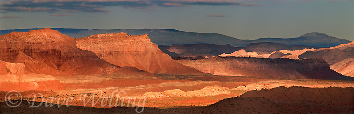 988000013 panoramic view of receding buttes and escarpments along the san rafael swell in central utah united states