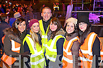 Stewards at the Killarney for the New Year's Eve event were l-r: Caitriona O'Callaghan, Caitriona Cahill Joe Cahill Kelly Doherty, Marion Lyne and Gemma Cavanagh..