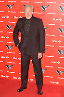 "Sir Tom Jones<br /> at the launch photocall for the 2019 series of ""The Voice"" London<br /> <br /> ©Ash Knotek  D3468  03/01/2019"