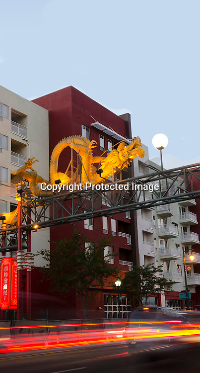 Stock photo of China Town in Los Angeles