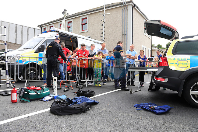 at the Garda open day and road safety awareness day at drogheda garda station.<br /> Picture:  Fran Caffrey www.newsfile.ie