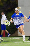 Costa Mesa, CA 02/20/16 - Kyra Harney (Duke #10) warms up before the start of the game against USC.