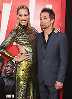 LOS ANGELES, CA - JUNE 7: Leslie Bibb and Sam Rockwell at the World premiere of Tag at the Regency Village Theatre in Los Angeles, California on June 7, 2018. Credit: Faye Sadou/MediaPunch<br /> CAP/MPIFM<br /> &copy;MPIFM/Capital Pictures