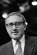 August 23rd 1972, Miami, Florida, USA. Henri Kissinger attending the Republican Convention which saw Richard Nixon announce his candidacy to the Presidency of the USA.