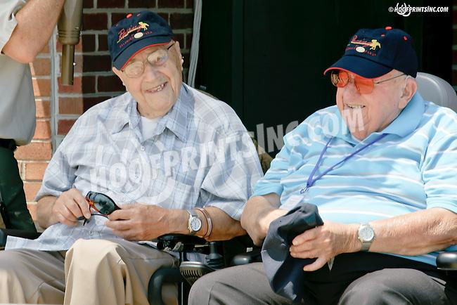 Kingofgoldstreet winning at Delaware Park racetrack on 6/28/14<br /> Happy 102nd Birthday to Joe Postorino