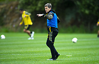 Assistant coach Chris Greenacre. Wellington Phoenix training at Martin Luckie Park in Wellington, New Zealand on Saturday, 19 October 2019. Photo: Dave Lintott / lintottphoto.co.nz