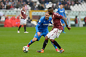 18th March 2018, Stadio Olimpico di Torino, Turin, Italy; Serie A football, Torino versus Fiorentina; Nicolas N'Koulou plays the ball
