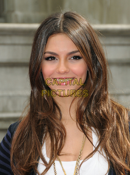 VICTORIA JUSTICE .at Variety's 4th Annual Power of Youth Event held at Paramount Studios in Hollywood, California, USA, .October 24th 2010. .portrait headshot smiling white .CAP/RKE/DVS.©DVS/RockinExposures/Capital Pictures.