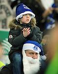 Everton fans <br /> - Barclays Premier League - Everton vs Leicester City - Goodison Park - Liverpool - England - 19th December 2015 - Pic Robin Parker/Sportimage