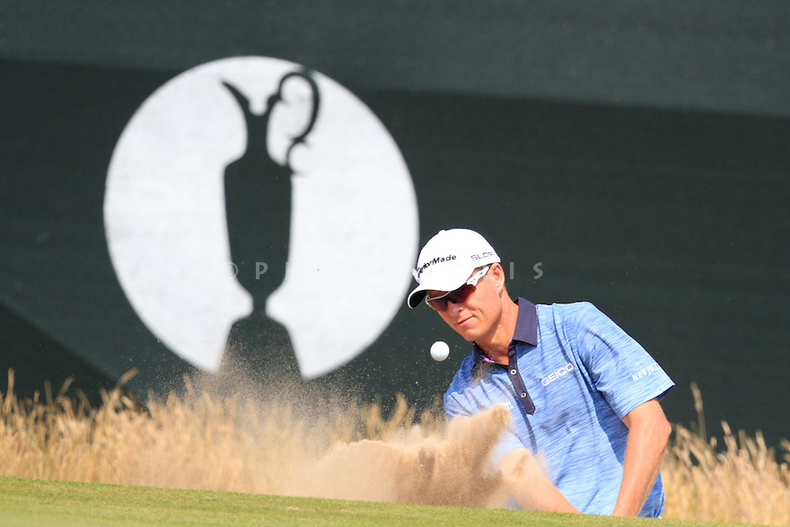 John SENDEN (USA) in action during the second round of the 143rd Open Championship played at Royal Liverpool Golf Club, Hoylake, Wirral, England. 17 - 20 July 2014 (Picture Credit / Phil Inglis)