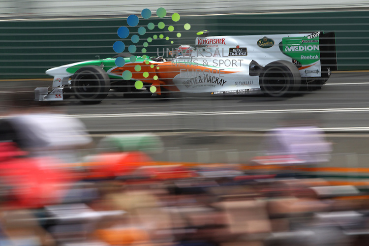 F1 GP of Australia, Melbourne 26. - 28. March 2010.Paul di Resta (GBR), Force India ..Picture: Hasan Bratic/Universal News And Sport (Scotland).