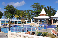 The RIU Tropical Bay Hotel & Resort, Negril  one of the hotels used by many of the runners for the Reggae Marathon which is held annually for the past 10 years. photo by Errol Anderson, The Sporting Image.net