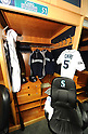 Ichiro Suzuki's locker,.JANUARY 29, 2012 - MLB :.Mariners Clubhouse Tours during the Seattle Mariners Fan Fest at Safeco Field in Seattle, Washington, United States. (Photo by AFLO)