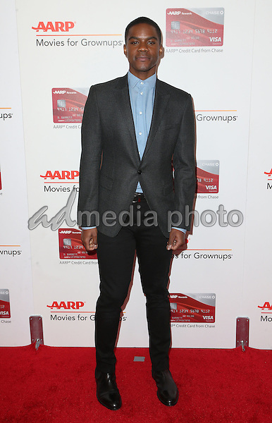 06 February 2017 - Beverly Hills, California - Jovan Adepo. AARP 16th Annual Movies For Grownups Awards held at the Beverly Wilshire Four Seasons Hotel. Photo Credit: F. Sadou/AdMedia