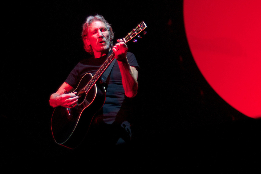 "Roger Waters performs Pink Floyd's ""The Wall: Live"" in its entirety to a near capacity crowd, May 26, 2012, at Vancouver's recently renovated BC Place (Scott Alexander/pressphotointl.com)"