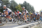 The peloton including Christopher Hamilton (AUS) Team Sunweb climb Colle Brianza during the 112th edition of Il Lombardia 2018, the final monument of the season running 241km from Bergamo to Como, Lombardy, Italy. 13th October 2018.<br /> Picture: Eoin Clarke | Cyclefile<br /> <br /> <br /> All photos usage must carry mandatory copyright credit (© Cyclefile | Eoin Clarke)