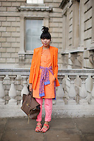 Susie Lau of Stylebubble blog at London Fashion Week
