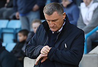Blackburn Rovers Manager Tony Mowbray <br /> <br /> Photographer Rachel Holborn/CameraSport<br /> <br /> The EFL Sky Bet League One - Gillingham v Blackburn Rovers - Tuesday 10th April 2018 - Priestfield Stadium - Gillingham<br /> <br /> World Copyright &copy; 2018 CameraSport. All rights reserved. 43 Linden Ave. Countesthorpe. Leicester. England. LE8 5PG - Tel: +44 (0) 116 277 4147 - admin@camerasport.com - www.camerasport.com
