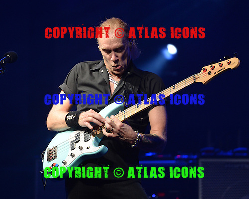 FORT LAUDERDALE, FL - OCTOBER 16: Billy Sheehan of The Winery Dogs performs at The Culture Room on October 16, 2015 in Fort Lauderdale Florida. Credit Larry Marano © 2015