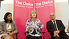Harriet Harman MP, Labour's Deputy Leader and Shadow Secretary of State for Culture, Media and Sport delivers the last speech of Labour&rsquo;s summer campaign on The Choice facing the country between Labour and the Tories. At the Pitzhanger Gallery &amp; House, Ealing, London, Great Britain 26th August 2014.<br />