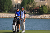 Victor Perez (FRA) during round 2, Ras Al Khaimah Challenge Tour Grand Final played at Al Hamra Golf Club, Ras Al Khaimah, UAE. 01/11/2018<br /> Picture: Golffile | Phil Inglis<br /> <br /> All photo usage must carry mandatory copyright credit (&copy; Golffile | Phil Inglis)