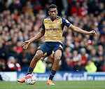 Alex Iwobi of Arsenal during the Barclays Premier League match at The Goodison Park Stadium. Photo credit should read: Simon Bellis/Sportimage